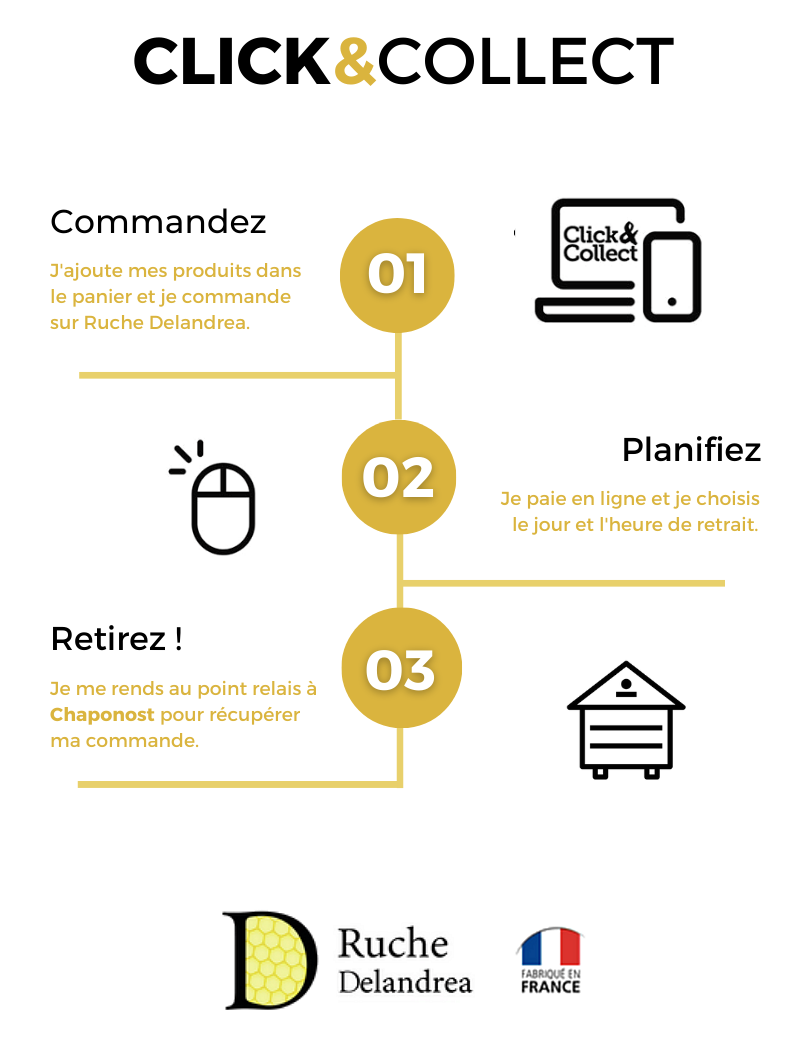 click and collect ruche delandrea gratuit ruches ruchette apiculteur